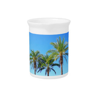 Triple Palm Beverage Pitchers