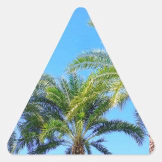 Triple Palm Triangle Sticker