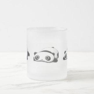 Triple Panda Frosted Mug