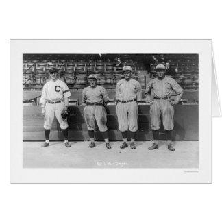 Triple Play Baseball 1920 Greeting Card