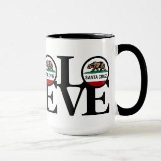 TRIPLE PLAY Born, Home & Love Santa Cruz Mug