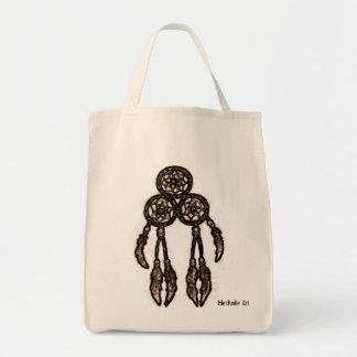 Triple Ring Dream Catcher Bag