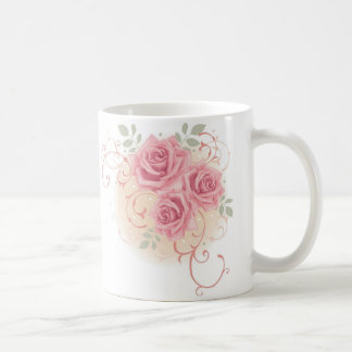 Triple Rose Coffee Mug