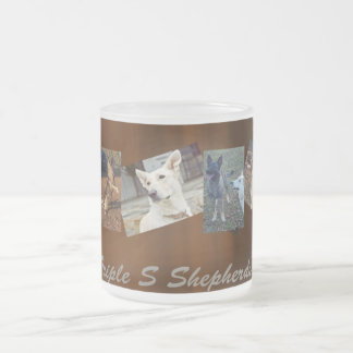 Triple S Shepherds dogs mug