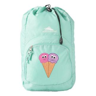 Triple Scoop Ice Cream Cone Cartoon High Sierra Backpack