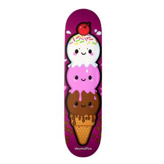 Triple Scoop Skate Deck