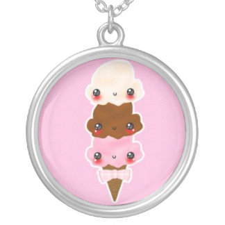 triple scoup kawaii kettink pendant