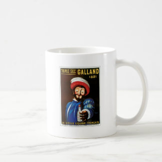 Triple Sec Galland 1821 Vintage Drink Ad Art Mug