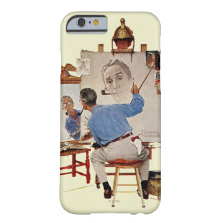 Triple Self-Portrait Barely There iPhone 6 Case