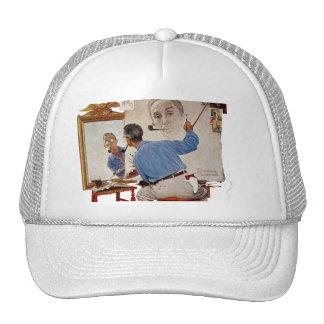 Triple Self-Portrait Trucker Hat