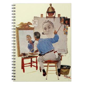 Triple Self-Portrait Notebook