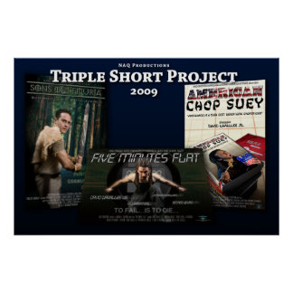 'Triple Short Project' Poster (Horizontal)