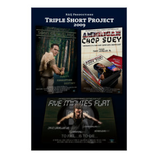 'Triple Short Project' Poster (Vertical)
