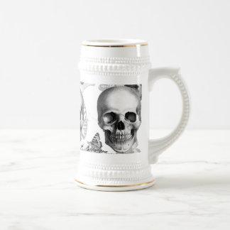 Triple Skull Beer Stein