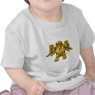 Triple Sphinx Tee Shirt