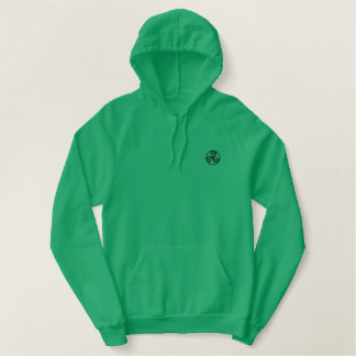 Triple Spiral (Triskele) Celtic Embroiderd Hoodie