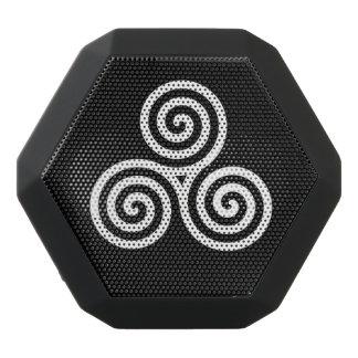 Triple spiral  White Black Boombot Rex Bluetooth Speaker