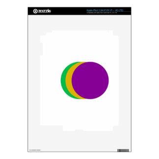 Triple Spot iPad 3 Decals