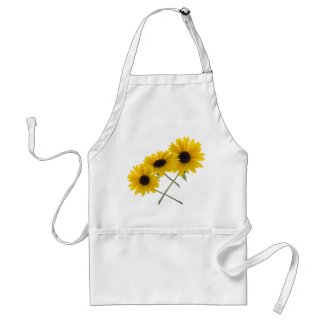 Triple Sunflower apron