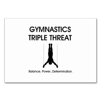 Triple SUPERIOR de la gimnasia