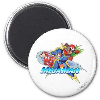 Triple Threat 2 Inch Round Magnet