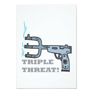 Triple Threat Custom Invites