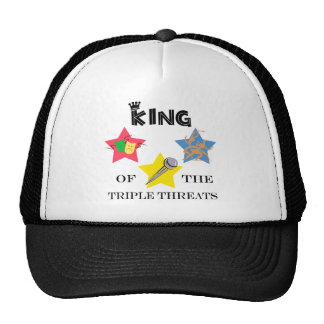 Triple Threat King Hat