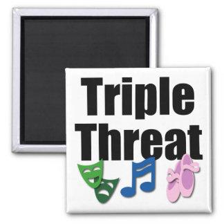 Triple Threat Magnet