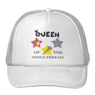 Triple Threat Queen Hat