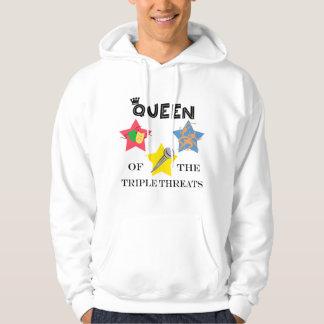 Triple Threat Queen Lite Hoodie