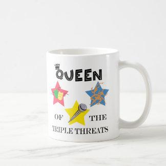 Triple Threat Queen Mug