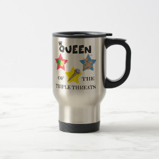 Triple Threat Queen Travel Mug