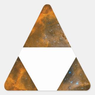 Triple Triangles Cosmic Triangle Sticker
