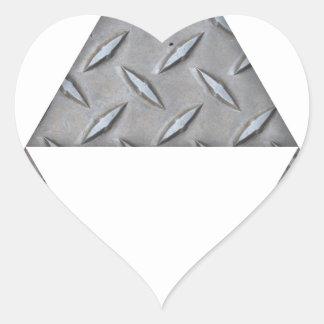Triple Triangles Heart Sticker