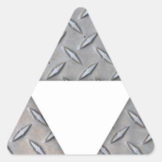 Triple Triangles Triangle Sticker