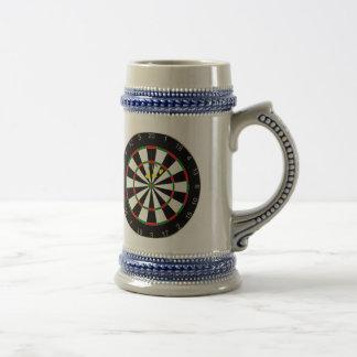 Triple Triple Twenty Dart Board Group Beer Mug