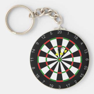 Triple Triple Twenty Dart Board Group Keychain