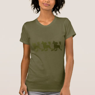 Triple trotting Crested T-Shirt