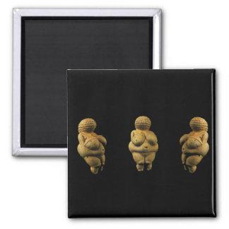 Triple Venus of Willendorf magnet