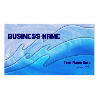 triple waves ~ bc Double-Sided standard business cards (Pack of 100)