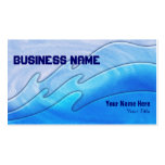 triple waves ~ bc business card template