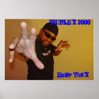 Triple X  2000 006, TRIPLE X 2000, Enter The X Poster