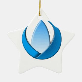 Triplet Ceramic Ornament