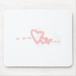 Triplet Love Mouse Pad