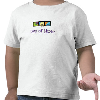 Triplet Monsters Two of Three T-Shirt