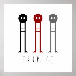 Triplet Print
