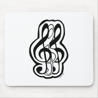 TripleTreble Mouse Pad