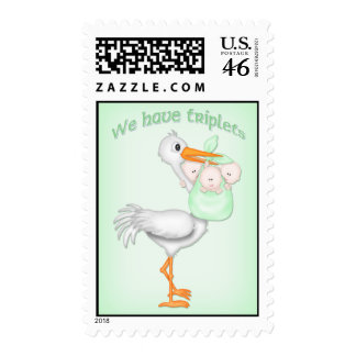 Triplets3a Postage Stamps