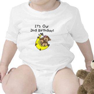 Triplets 2nd - Two Boys/ One Girl Tshirts