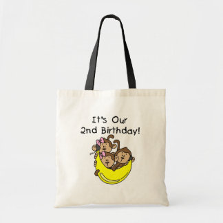 Triplets 2nd - Two Girls and a Boy Tote Bag